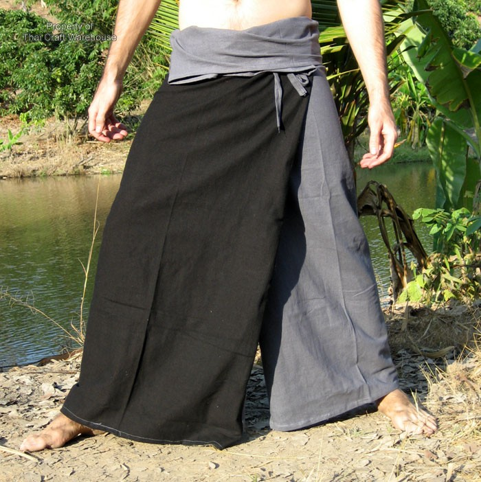 Fishermans Pants Sometimes Called Yoga Or Samurai Are A Unisex Style Of That Very Loose And Comfortable To Wear